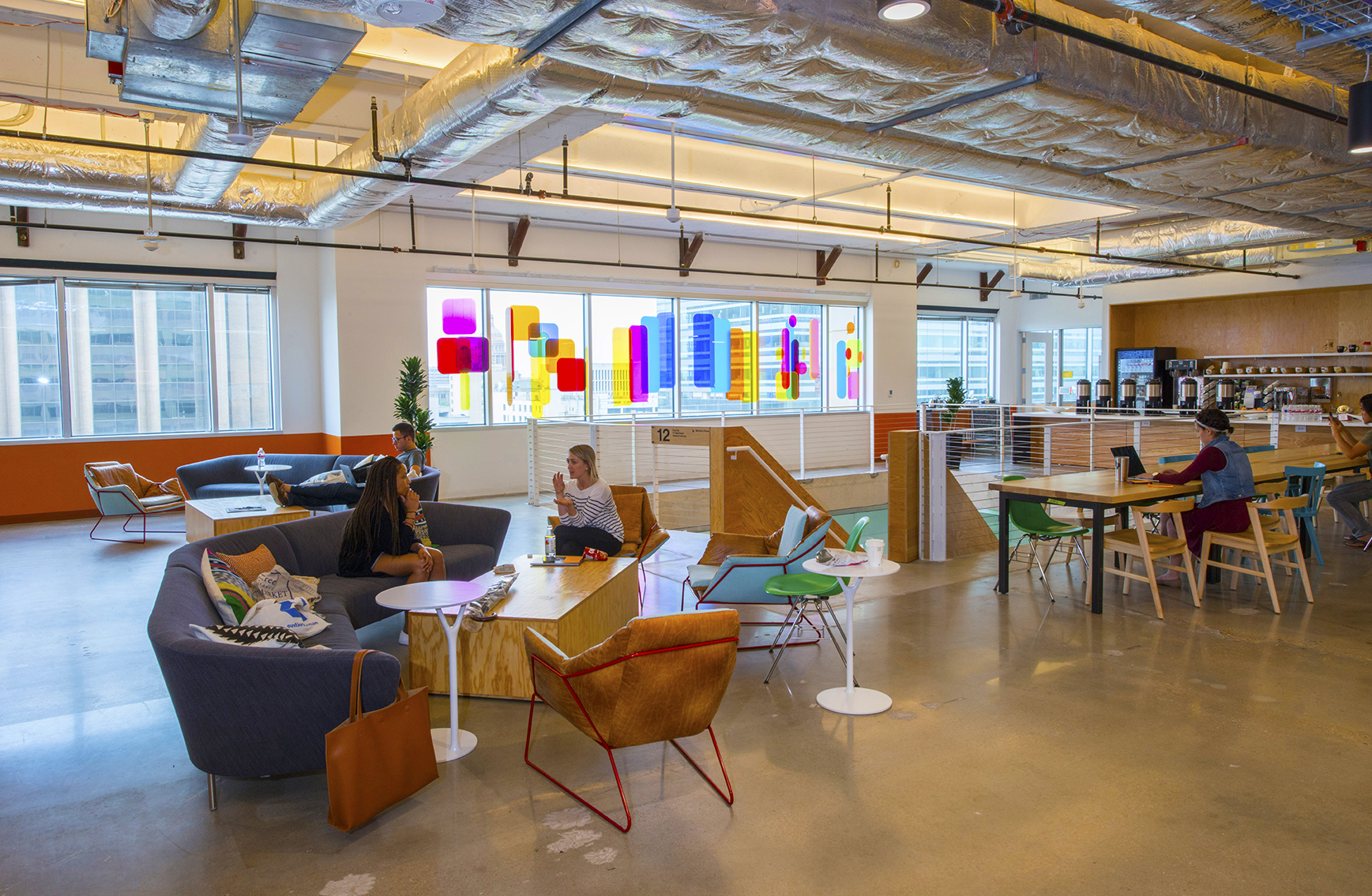 4-Story Project at Facebook Office