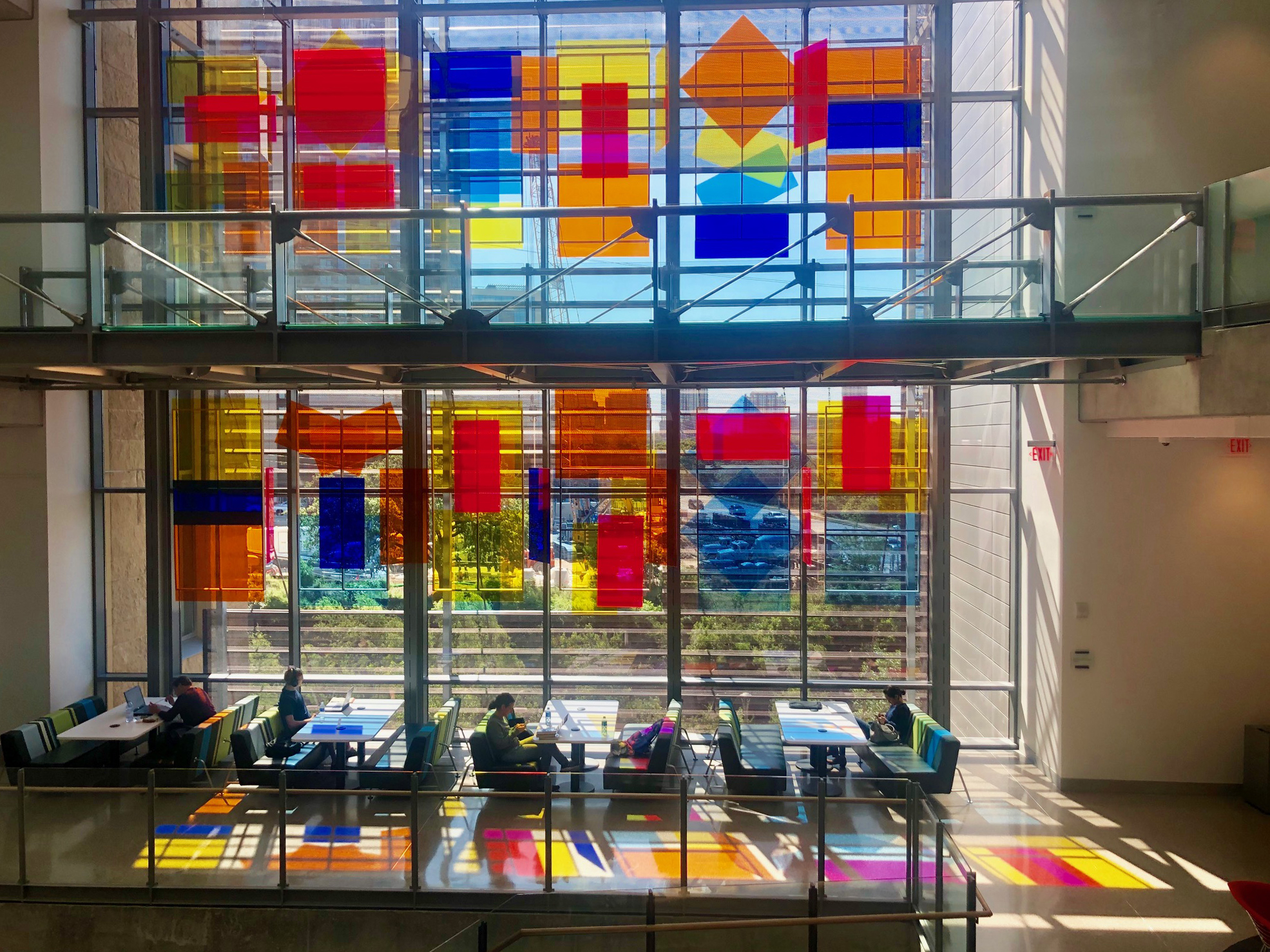 2-Story Window Installation at Austin Central Library