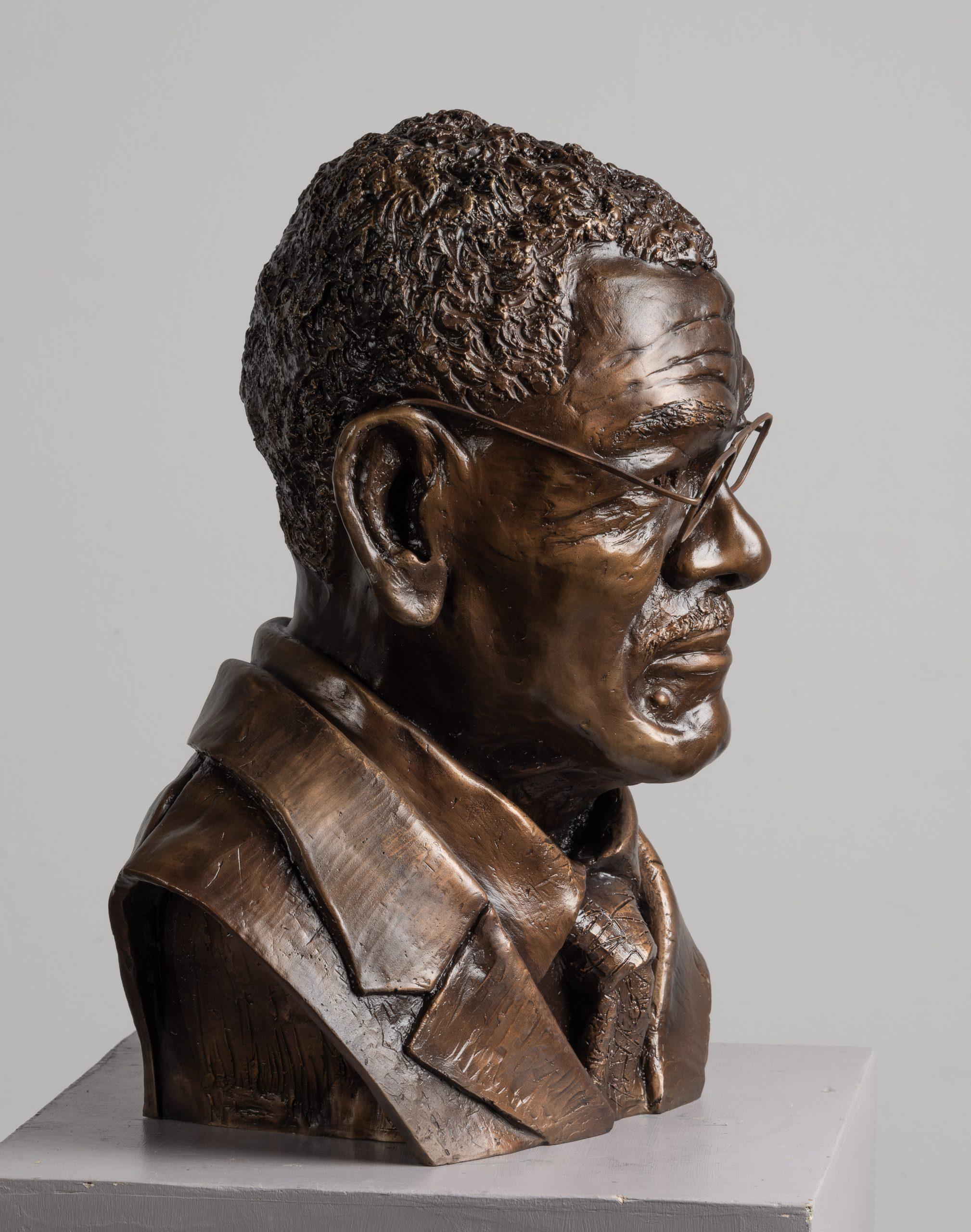 Hon. JP Cleophus Steele bust