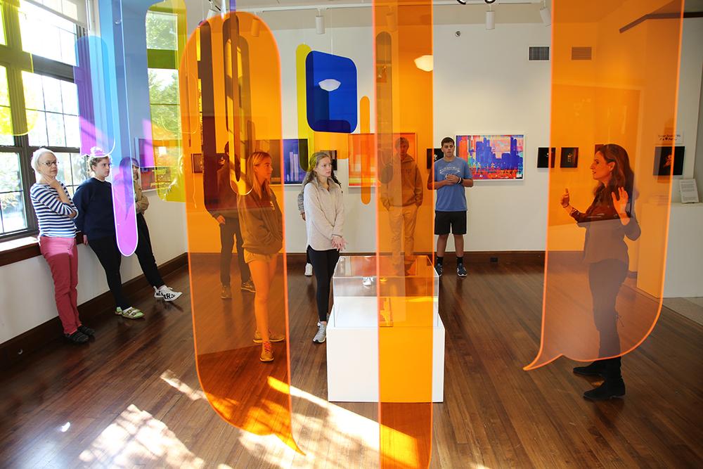 """t e x t s c a p e"" Exhibitions at Co-Lab Projects DEMO Gallery (Austin, TX) & Bonsack Gallery (St. Louis, MO)"