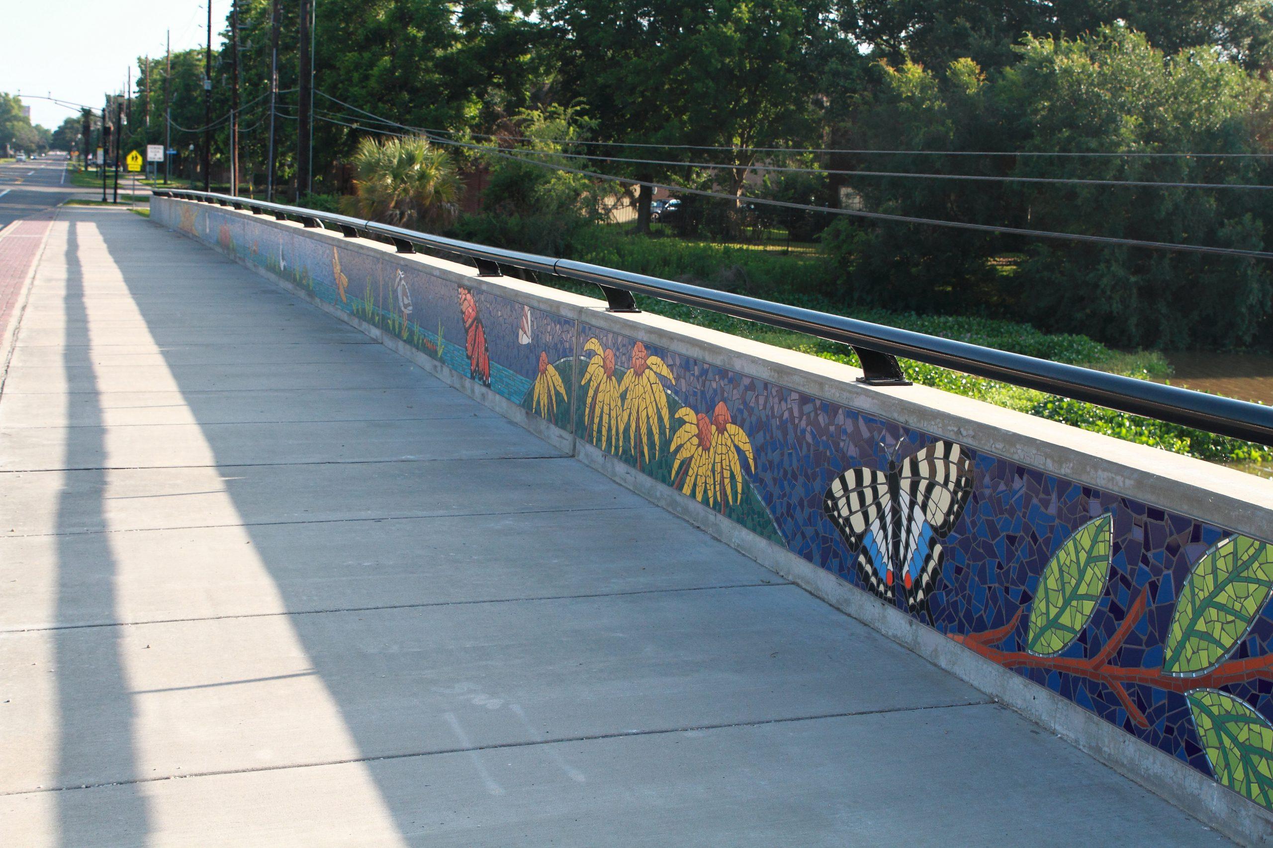 """Natural Rhythm"" Brooks Street Bridge, City of Sugar Land, Tx."