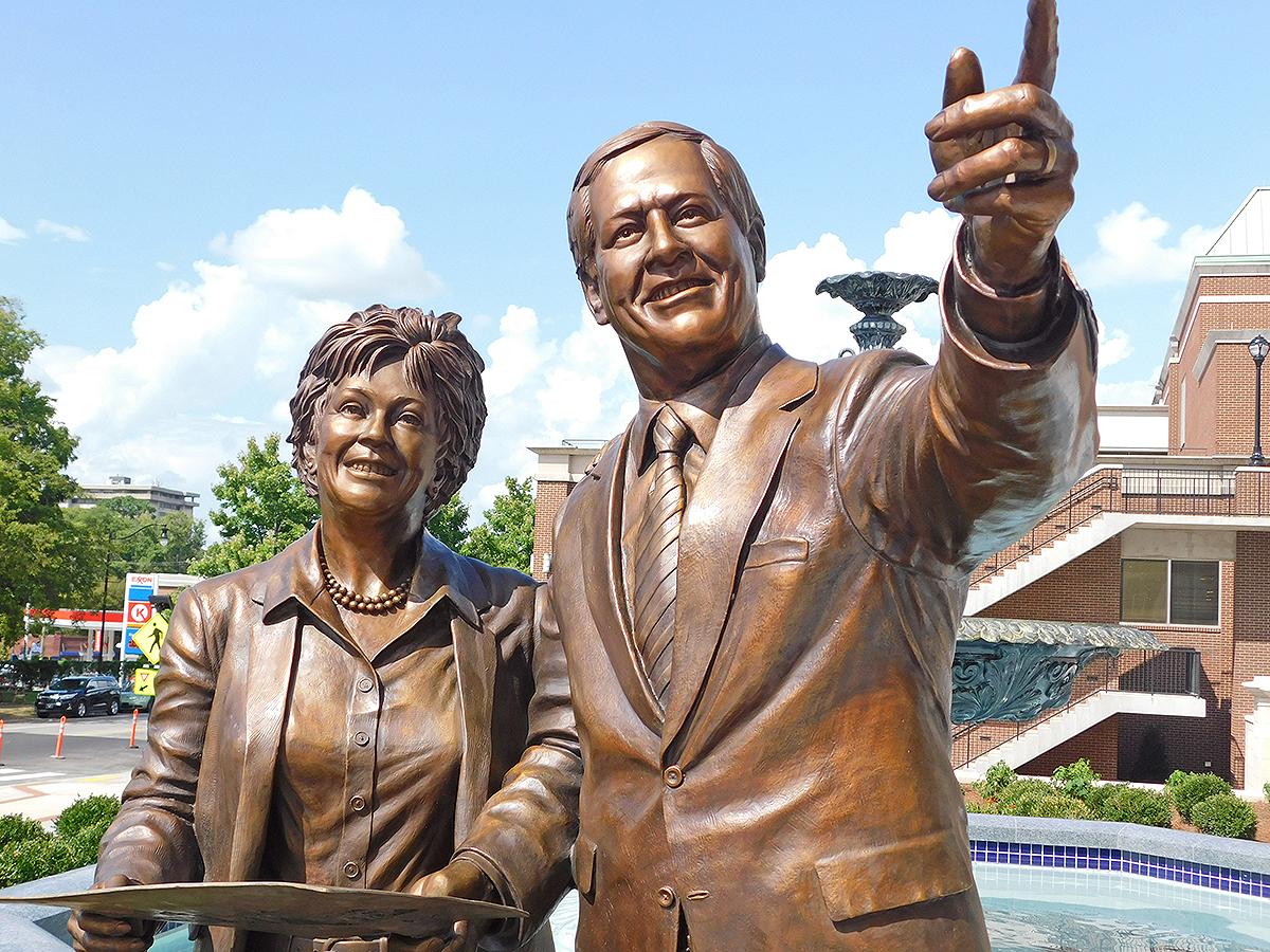 Belmont University President Bob Fisher and wife Judy