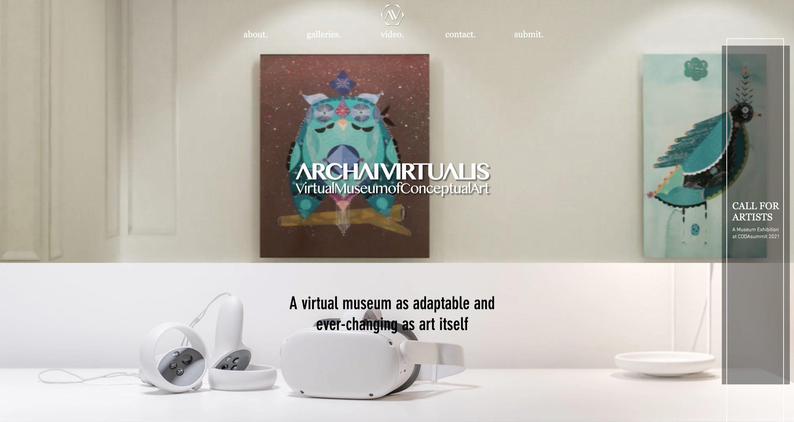 Archai Virtualis Virtual Museum of Conceptual Art