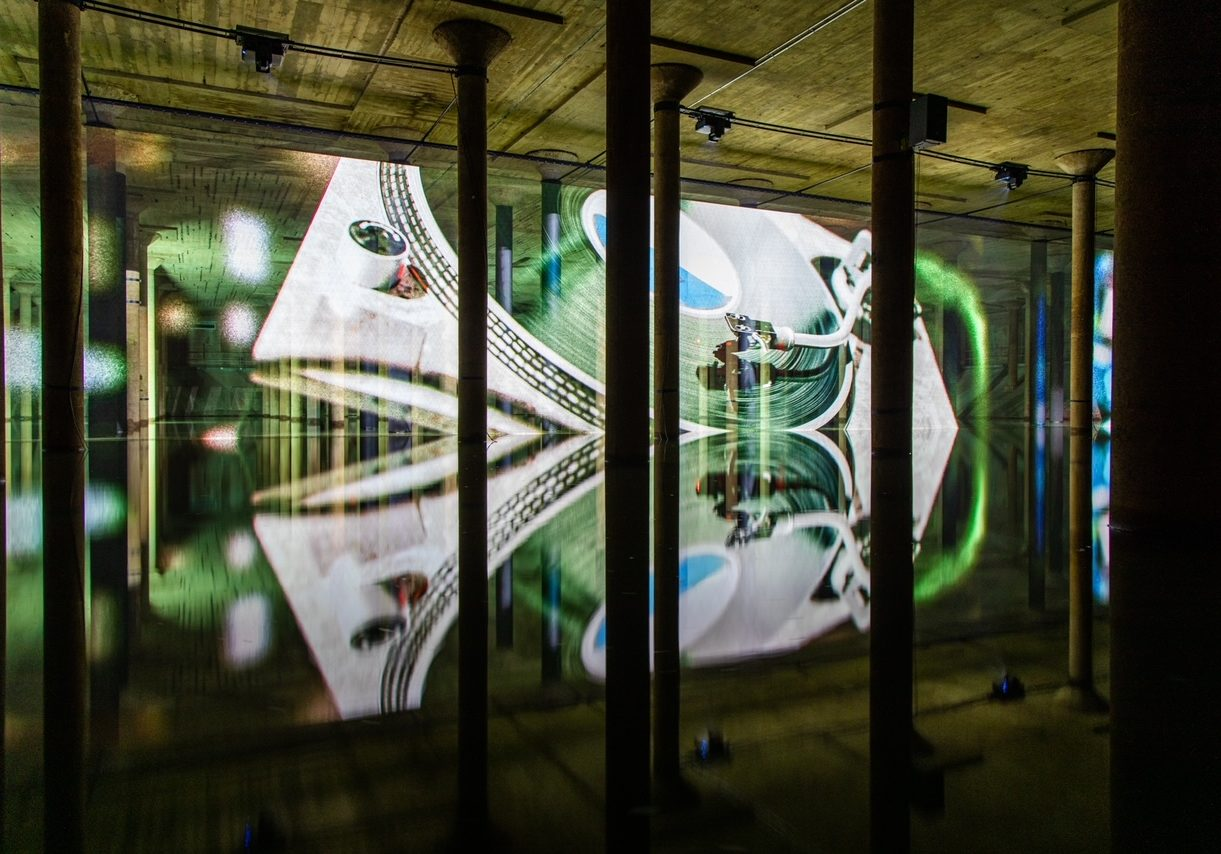Buffalo Bayou Partnership (BBP) and Weingarten Art Group (WAG) - Art Installation at Buffalo Bayou Park Cistern