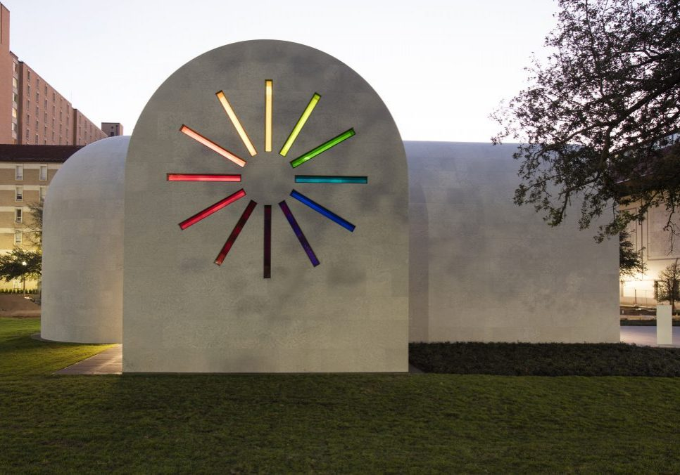 Ellsworth Kelly's Austin at the Blanton Museum of Art in Austin, Texas